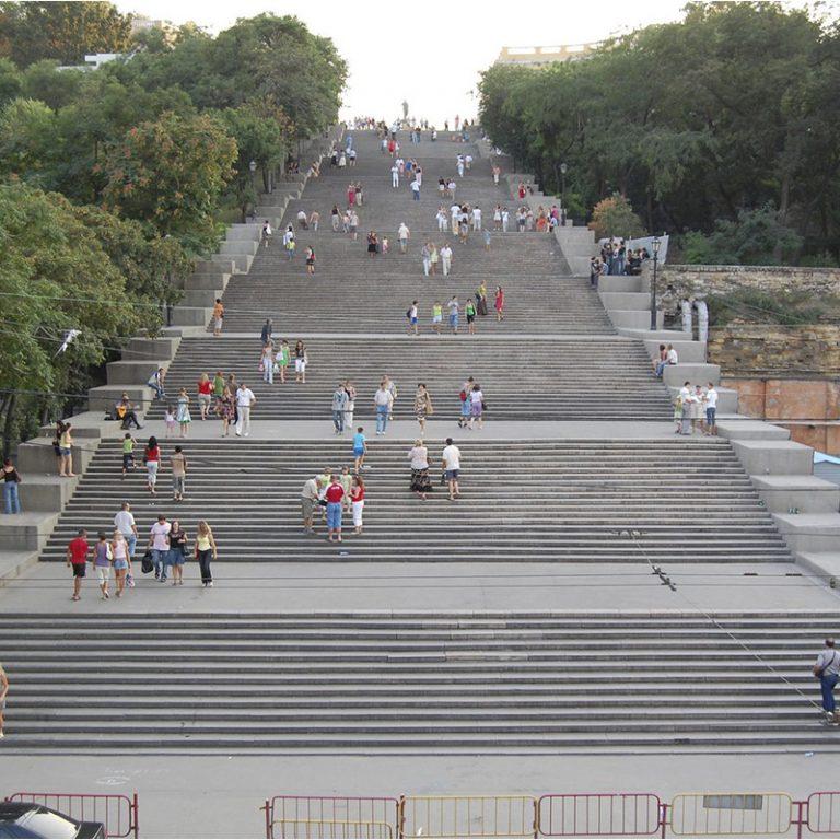 3. Potemkin stairs